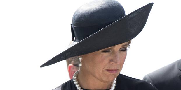 La reine Maxima des Pays-Bas en deuil - La DH