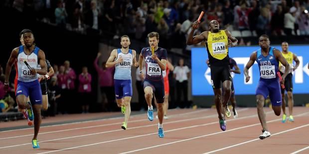 Mondiaux: Le roi Bolt foudroyé sur 4x100m pour sa dernière course ! - La DH