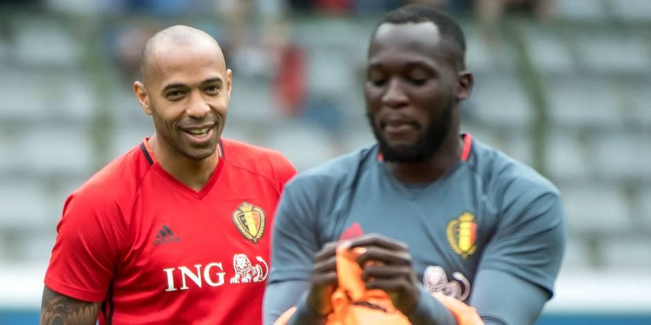 Malgré le doublé de Lukaku, Thierry Henry se montre partagé sur la prestation du Red Devil
