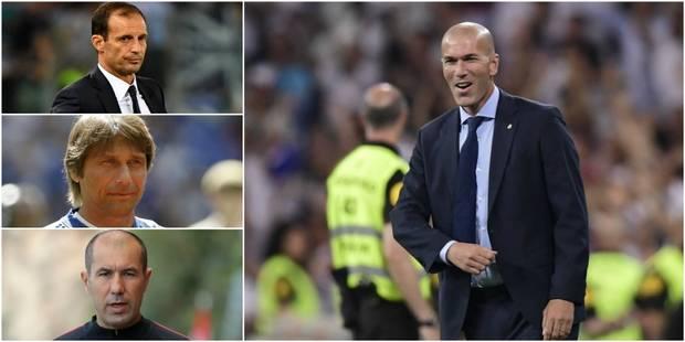 Zinedine Zidane grand favori pour le titre d'entraîneur FIFA de l'année - La DH