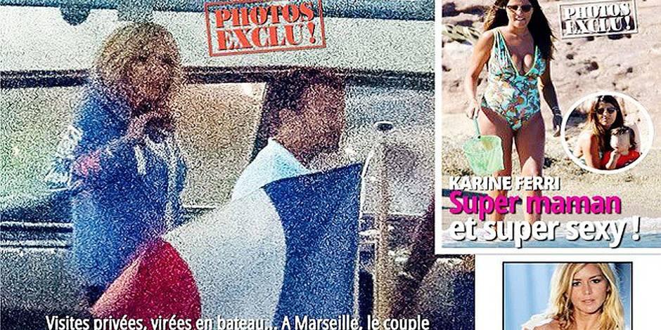 Voici dévoile des clichés du couple Macron en vacances (PHOTOS)