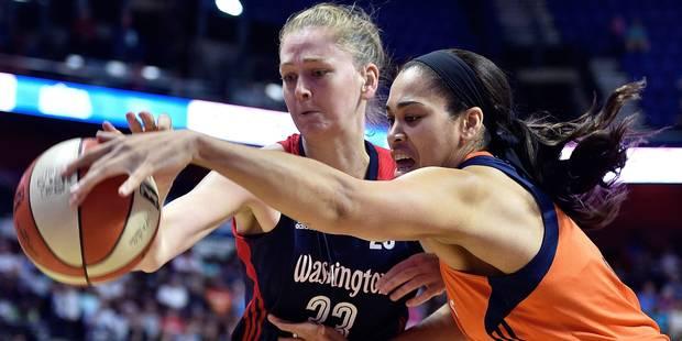 WNBA: Emma Meesseman assurée de jouer les playoffs - La DH
