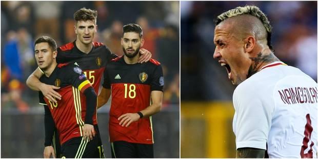 Les Diables avec Hazard, Defour et Meunier mais sans Nainggolan face à Gibraltar et la Grèce - La DH