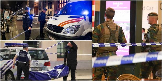 """Attaque """"terroriste"""" sur des militaires à Bruxelles: l'EI revendique l'attaque - La DH"""