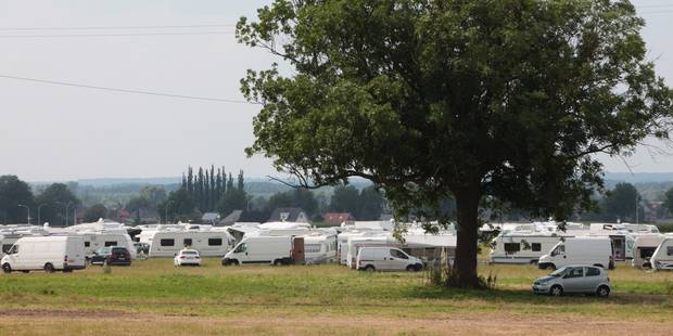 Un camp de Roms découvert porte de Ninove à Bruxelles - La DH