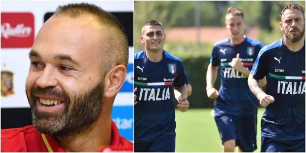 Qualifications Mondial 2018: Espagne-Italie, du talent partout - La DH