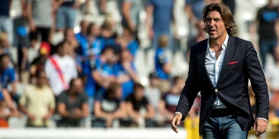 "Sa Pinto avant Standard-Charleroi: ""Moi, nerveux ? Non, je suis toujours normal"""