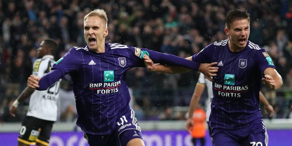 Teodorczyk libère un Anderlecht poussif contre Lokeren (3-2)