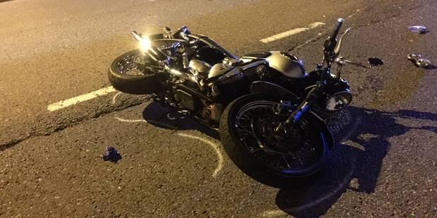 Un motard gravement blessé dans une collision à Huy - La DH