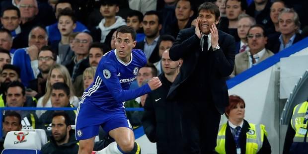 """Conte sur Eden Hazard: """"Nous savons très bien quelle est son importance"""" - La DH"""