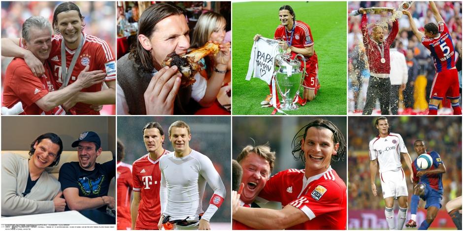 Van Buyten: huit ans au Bayern en huit photos