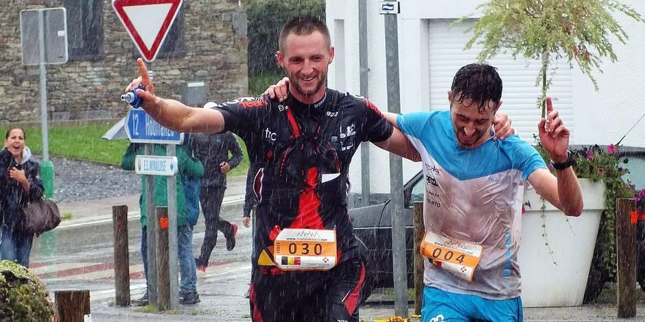 Deux champions de Belgique de trail pour le prix d'un