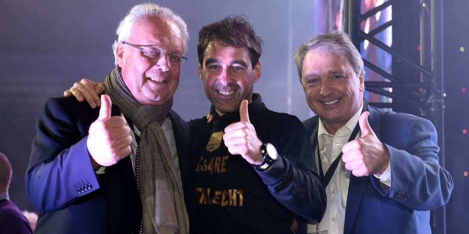 RSC Anderlecht campionship celebration