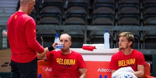 Coupe Davis: David Goffin se montre confiant avant d'affronter John Millman - La DH