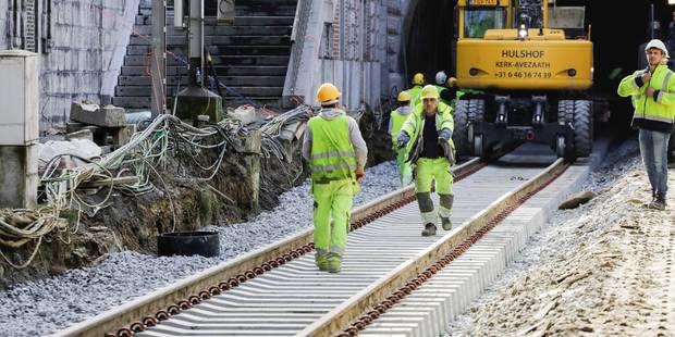 Rupture de canalisation à Saint-Josse: le tunnel rouvert à la circulation ferroviaire - La DH