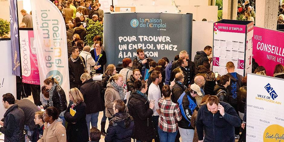 Saint ghislain un second salon de l emploi sur les rails for Salons de l emploi