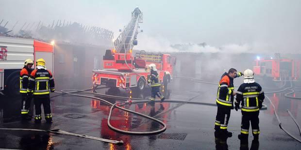 Un important legs aux pompiers de Wallonie picarde - La DH