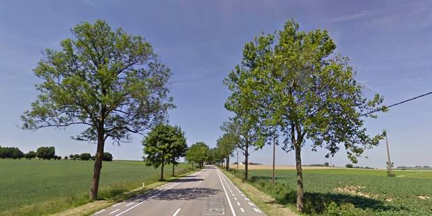 Une automobiliste gravement blessée après avoir heurté un arbre sur la N55 entre Enghien et Soignies - La DH