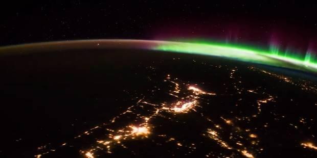 Découvrez le sublime timelapse d'une aurore boréale depuis l'ISS (VIDEO) - La DH