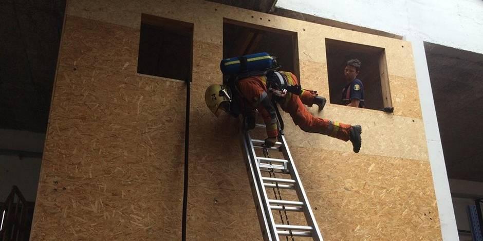 Les pompiers de la zone Hainaut-Centre en compétition