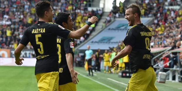 Bundesliga: Dortmund conserve la tête grâce à une victoire à Augsbourg - La DH