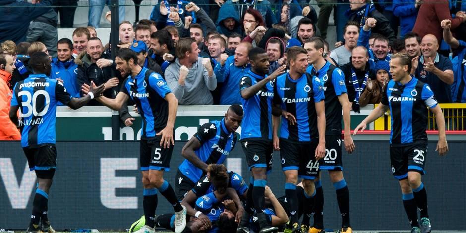 Bruges s'impose face à La Gantoise et reprend le large en tête de la Pro League (2-1)