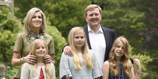 Les nouveaux portraits officiels de la famille royale des Pays-Bas ne ressemblent plus du tout à ça - La DH