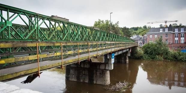 """Tilff : le pont est """"enfin sur les rails"""" - La DH"""