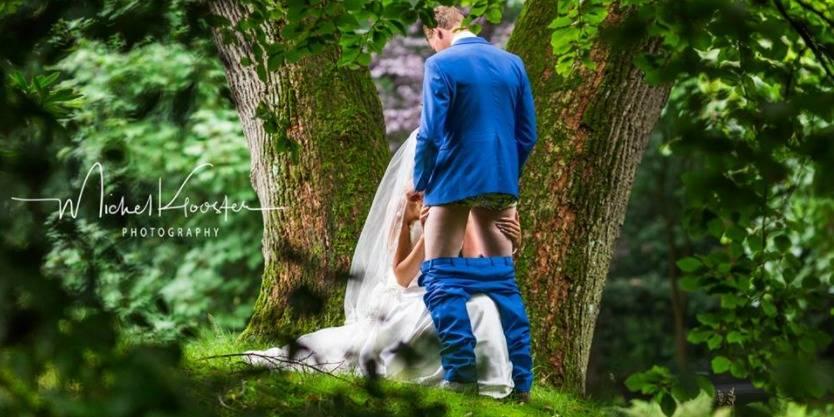 Oseriez-vous faire cette photo de mariage?