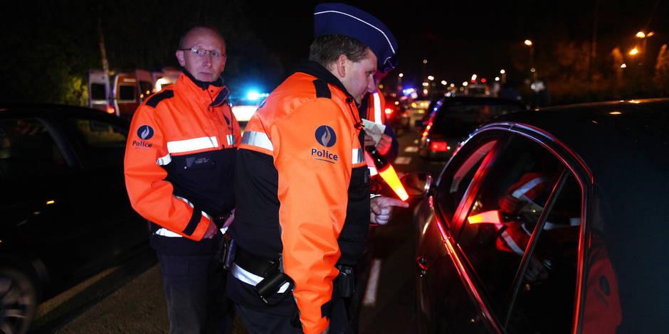 Quaregnon: un automobiliste échappe à un contrôle et cache son véhicule dans une rue voisine