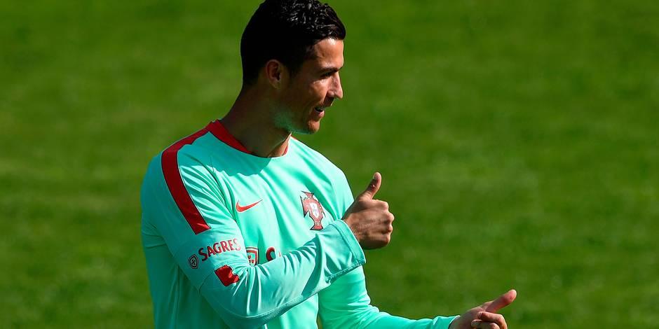 """Mondial 2018: En """"finale"""" contre la Suisse, Cristiano Ronaldo est dans son élément"""