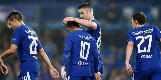 C1: Hazard et Courtois partagent contre la Roma, Lukaku continue son sans faute avec Man U - La DH
