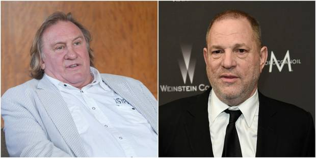"""Le jour où Depardieu a menacé Weinstein de lui """"crever les yeux"""" - La DH"""