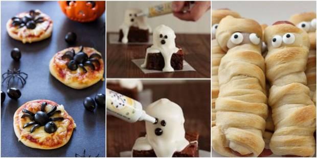 5 idées de plats faciles à faire avec les enfants pour Halloween - La DH