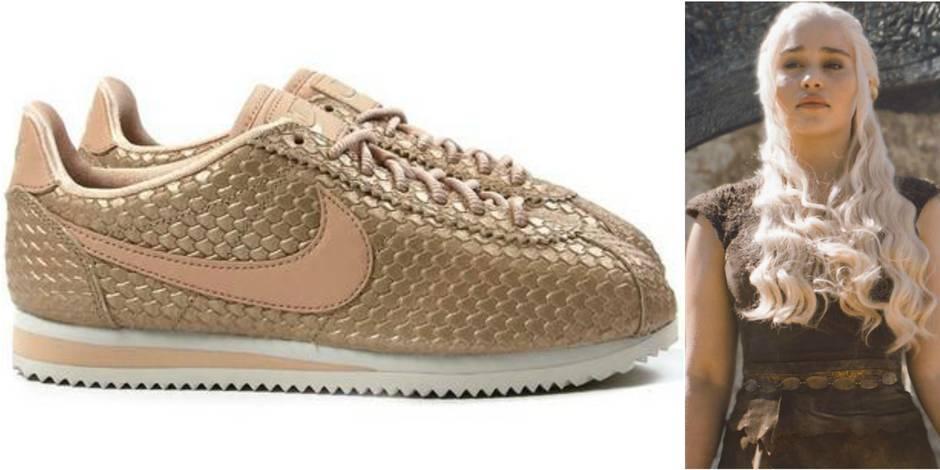 Game of Thrones: Nike sort des sneakers dédiées à Daenarys Targaryen