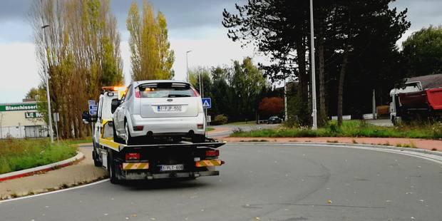 Course-poursuite ce dimanche dans le Borinage : des armes retrouvées dans le véhicule - La DH