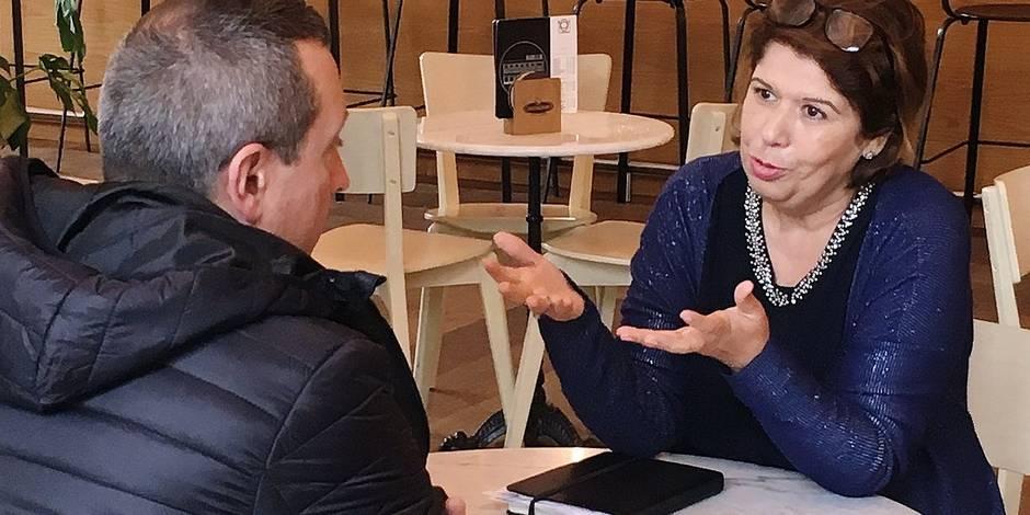 Latifa Gahouchi veut revenir à Charleroi, malgré les scandales - La DH