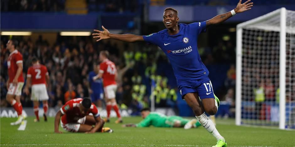"""Conte: """"Charly est un bon jeune qui peut devenir un joueur important pour Chelsea"""""""