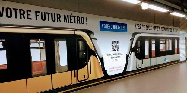 Bruxelles: Choissisez à quoi ressembleront les futurs métros! - La DH