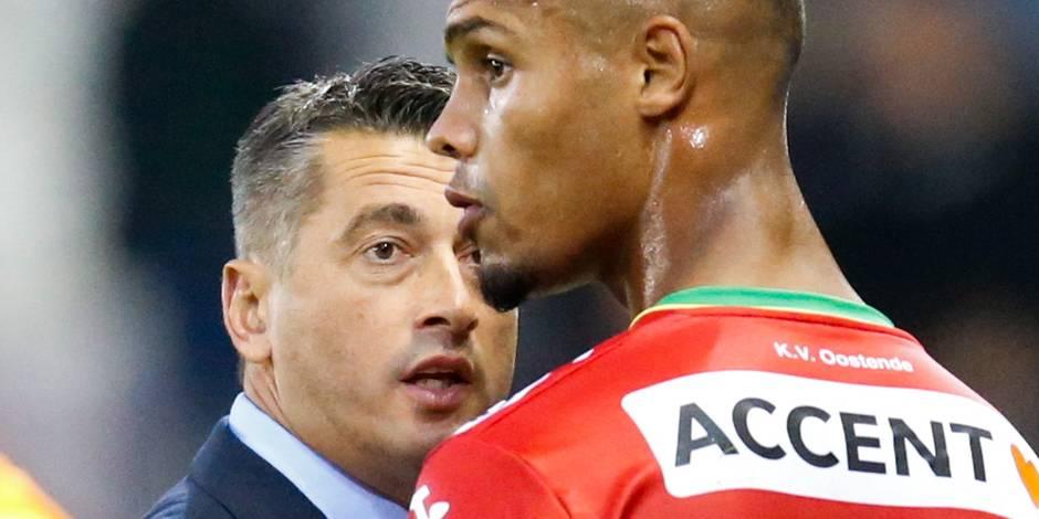 Ostende: Gano pas repris pour affronter Lokeren à cause d'une altercation avec son coach?