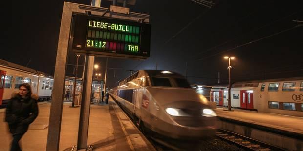 Mons : le train à grande vitesse tombe aux oubliettes - La DH