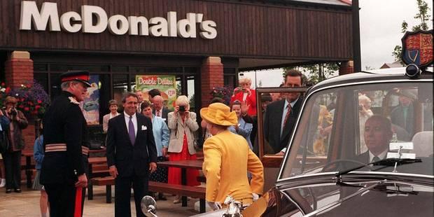 La reine d'Angleterre possède... un McDonald's ! - La DH