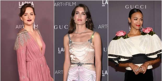 Gala du LACMA : un tapis rouge très rose - La DH
