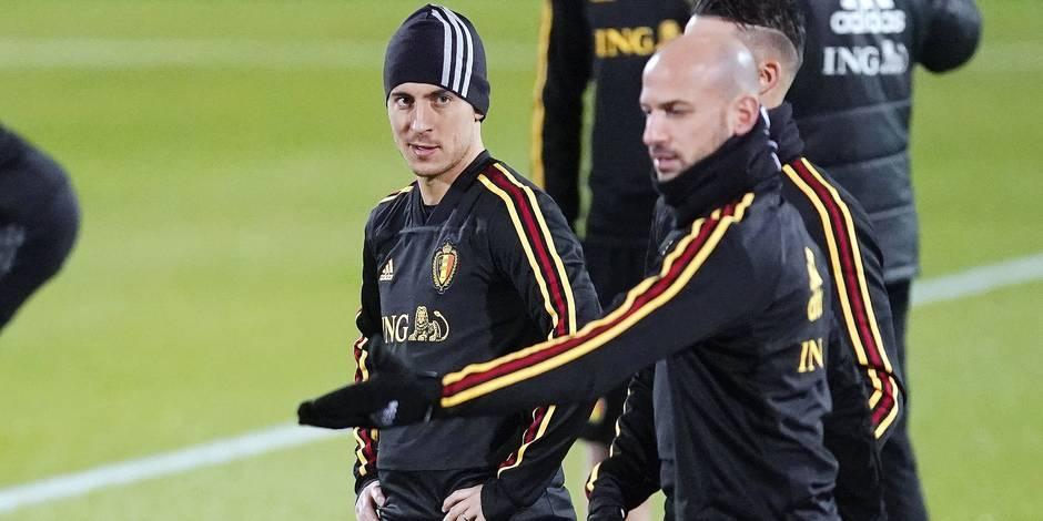 """Eden Hazard : """"Ce serait un rêve d'être entraîné par Zidane"""""""