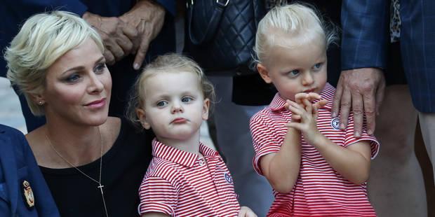 Charlene et Albert de Monaco emmènent leurs enfants à un dîner caritatif - La DH
