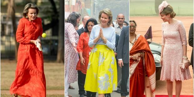 Mathilde : son défilé de mode en Inde - La DH
