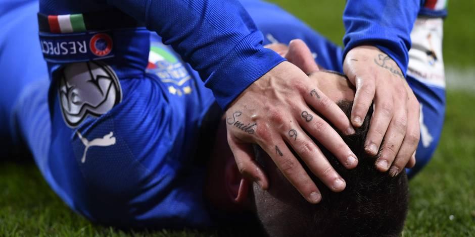 """Barrages pour le Mondial 2018: une Italie """"cauchemardesque"""" étrillée par la presse"""