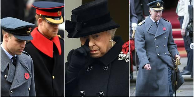La reine Elizabeth II passe tout doucement la main à son fils et ses petits-fils - La DH