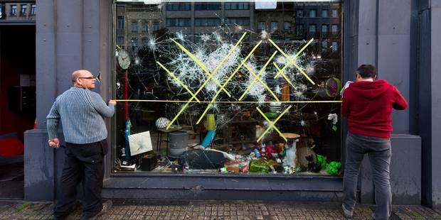 Emeutes à Bruxelles: la police a déjà récolté près de 300 témoignages des violences commises samedi soir - La DH