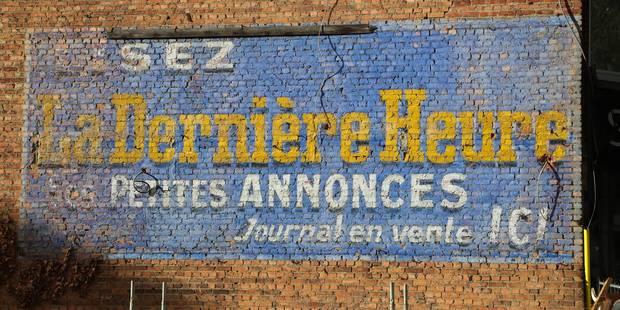Voici les dernières publicités murales peintes de la capitale (VIDÉO) - La DH